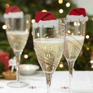 segnaposto-natalizio-bicchiere-cappello-babbo-natale