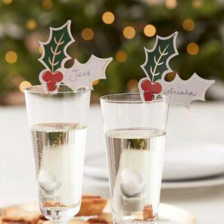 segnaposto-natalizio-bicchiere-pungitopo-bacche