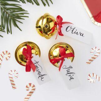 segnaposto-natalizio-campanellini-dorati