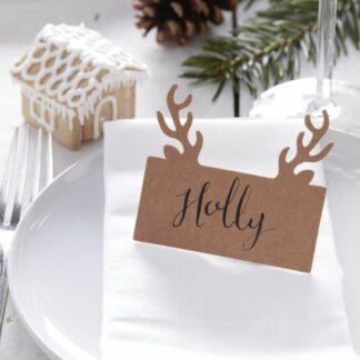 segnaposto-natalizio-testa-cervo