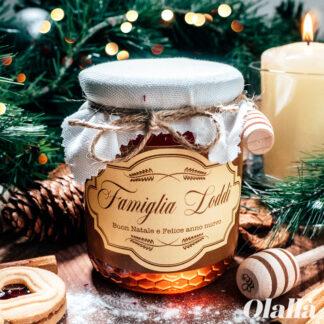 vasetto-miele-etichetta-natalizia-confezione-regalo